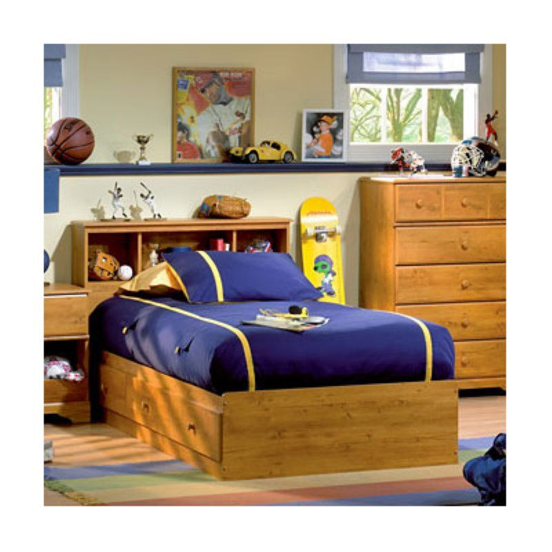 South Shore Little Treasures Twin Bookcase Bed Collection - SSI560