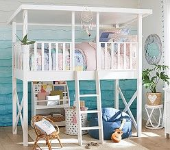 Lifeguard Tower Loft Bed Playhouse Loft Bed Treehouse