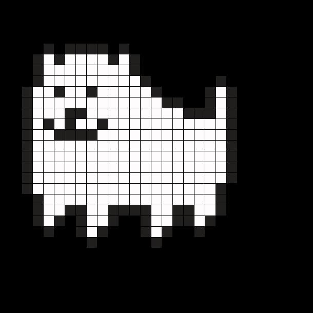 Undertale Annoying Dog By Awmyunicorn On Kandi Patterns Undertale Pixel Art Pixel Art Pattern Pixel Art