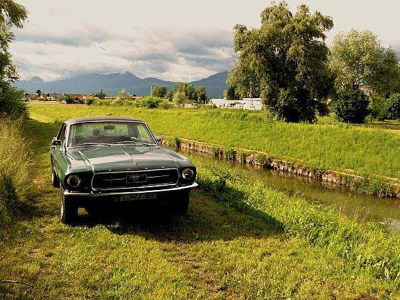 Ford Mustang Coupe 302 V8 Oldtimer 1967