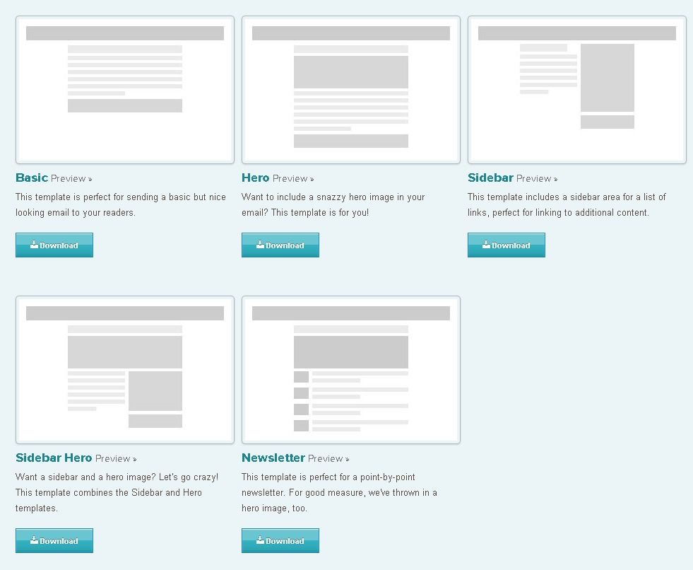 responsive email templates downloads templates pinterest