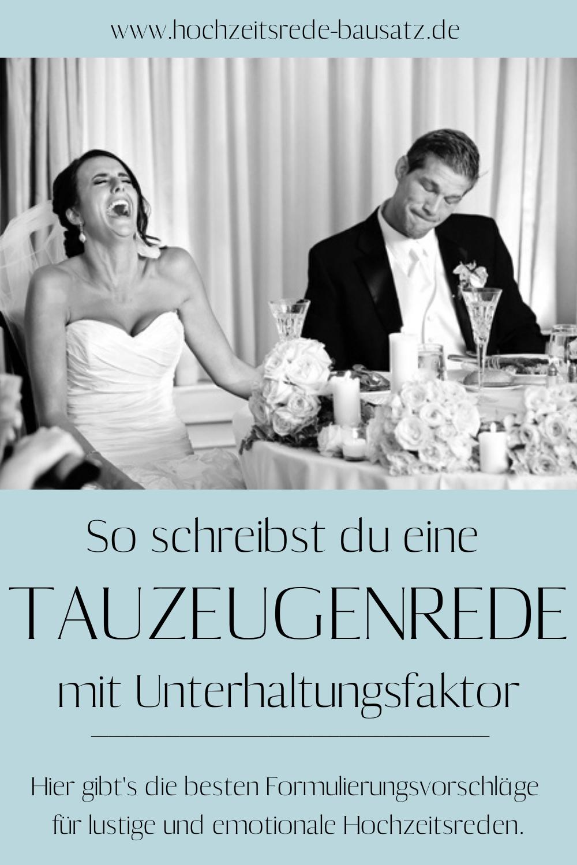 Junggesellen Rede Hochzeit