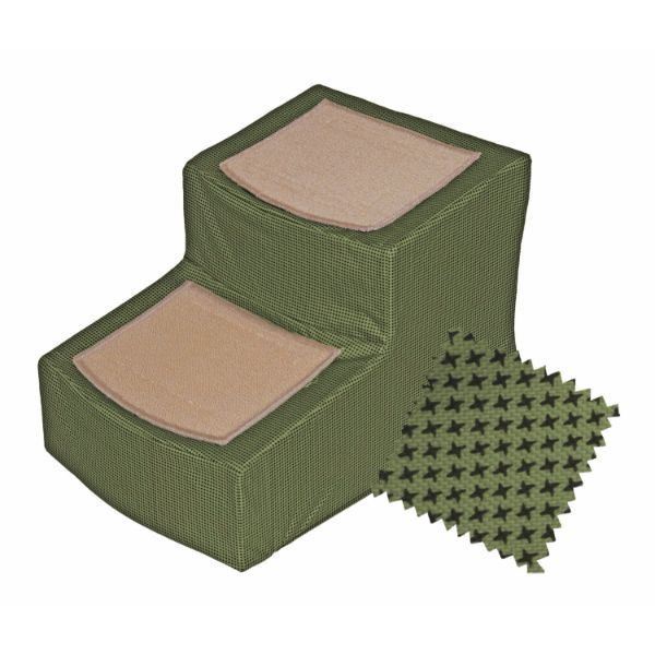 Best Designer Stair Ii With Removable Cover Sage Pet Gear 400 x 300