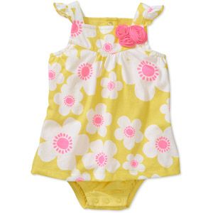Walmart Baby Girl Clothes A Newborn Girls Daisy Sunsuit At Walmart Designer Clothes