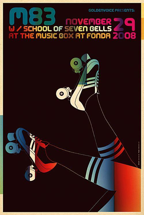 30 Cool Concert Poster Designs for Print Inspiration