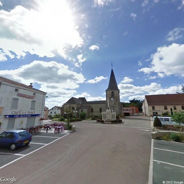 Place de l'Église, 42620 Saint-Martin-d'Estréaux, France Map