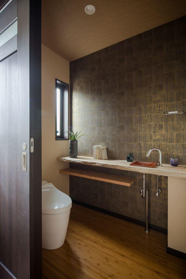 料亭みたいなトイレ コーディネートno 286307 Restroom Design Baths Interior Lighted Bathroom Mirror