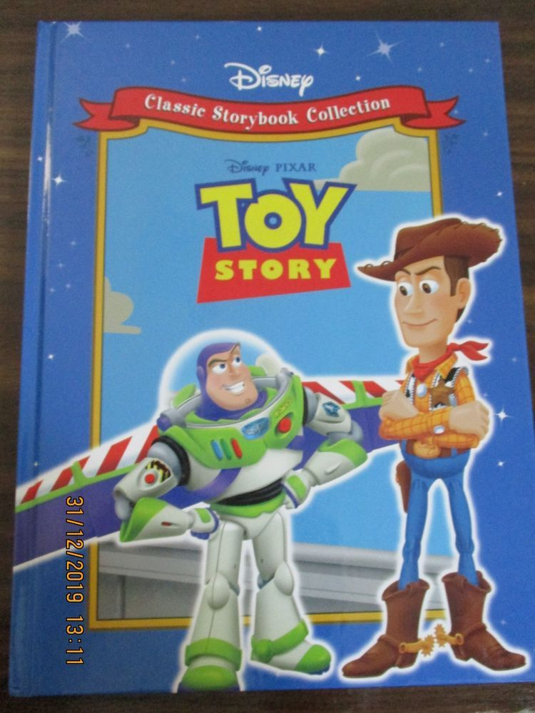 Disney classic storybook collection toy story hardback