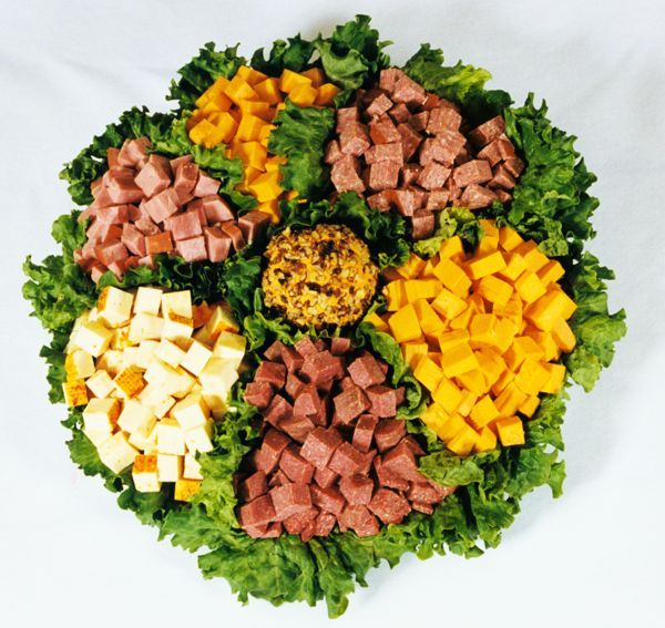 Meat And Cheese Party Platters