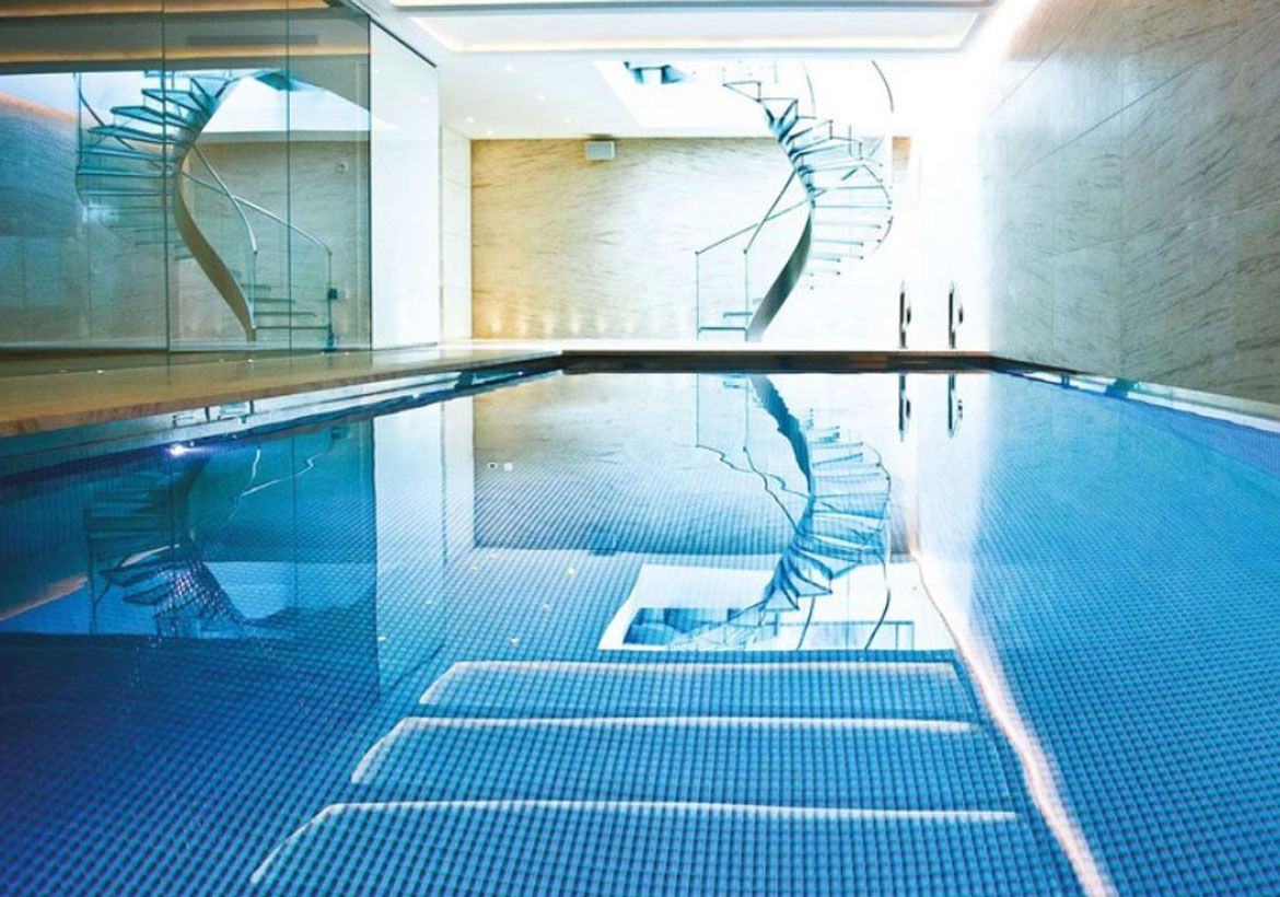 Indoor Pool And Hot Tub Ideas Swim With Style At Home House Styles Indoor Pool Hot Tub