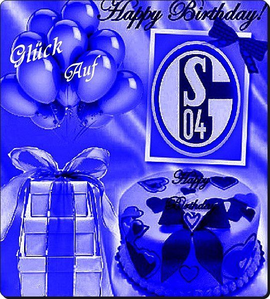 Schalke Geburtstagsgrüße