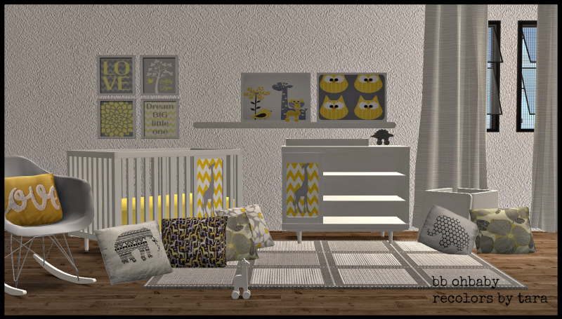 Sims 2 Buggybooz S Ohbaby Nursery Recolors Downloads