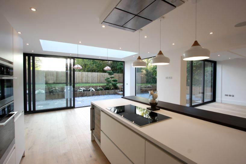 Sliding Glass Doors Used In Modern Architect