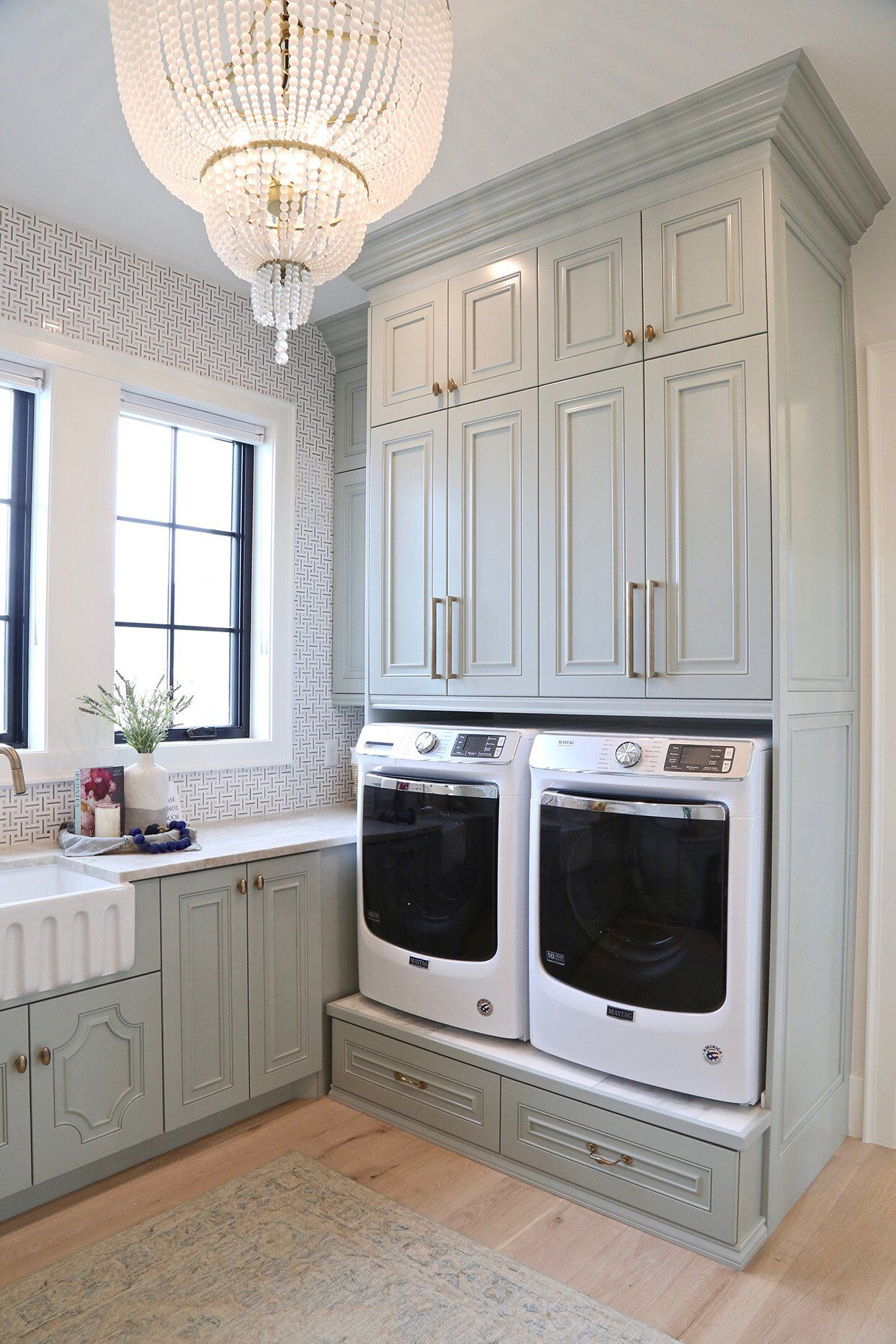 Goodbye Gray Hello Earth Tones Our 2020 Paint Color Forecast In 2020 With Images Large Laundry Rooms Dream Laundry Room Laundry Room Design