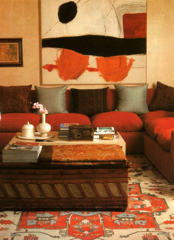 Love the art and it\'s perfect coordination with the room. | Art ...