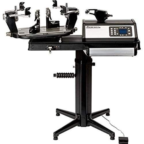 Gamma 8900 Els 6pt Self Centering Suspension Mount W Lcd Stringing Machine Tennis Stringing Machine Stringing Machine