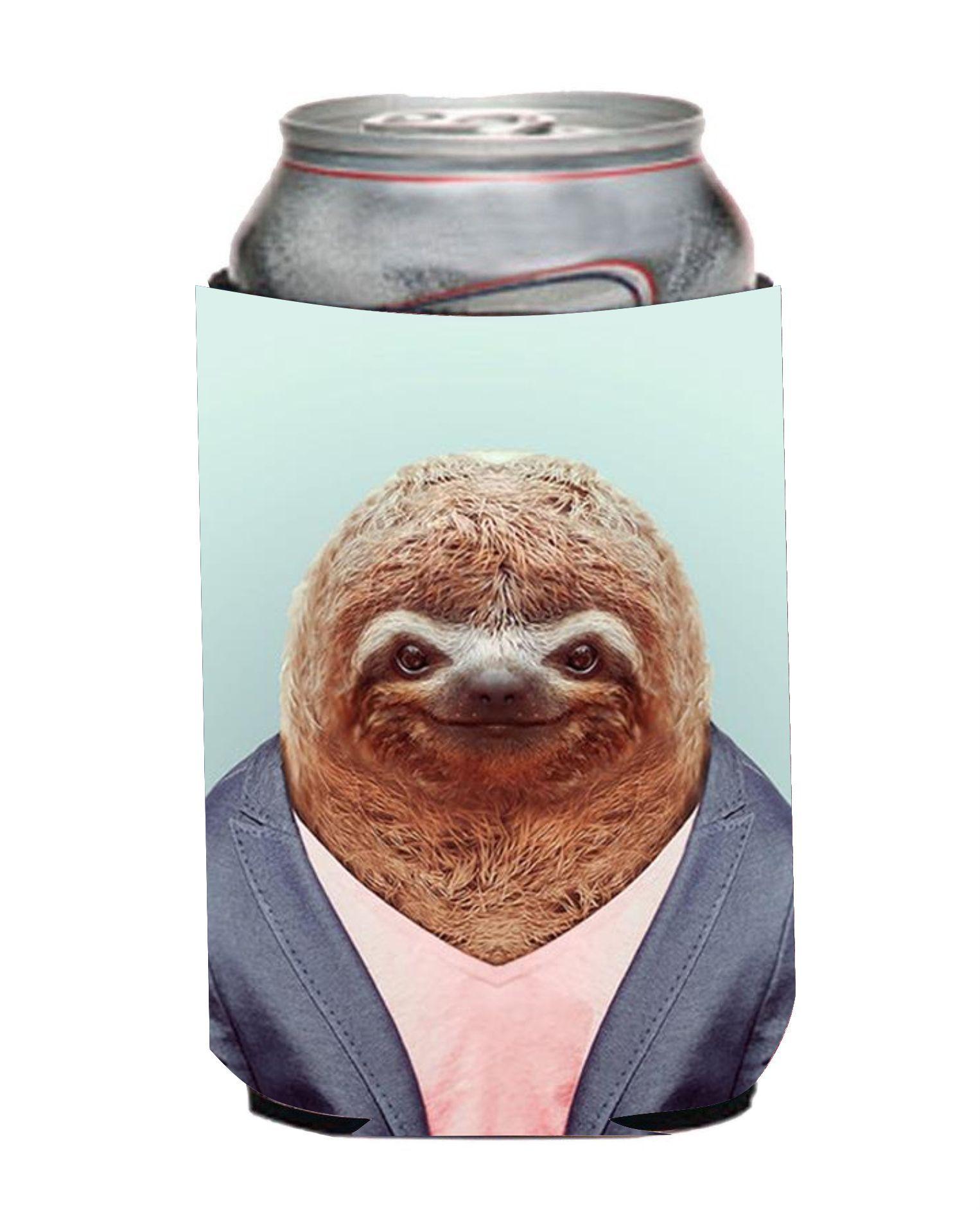 Hipster Sloth Koozie