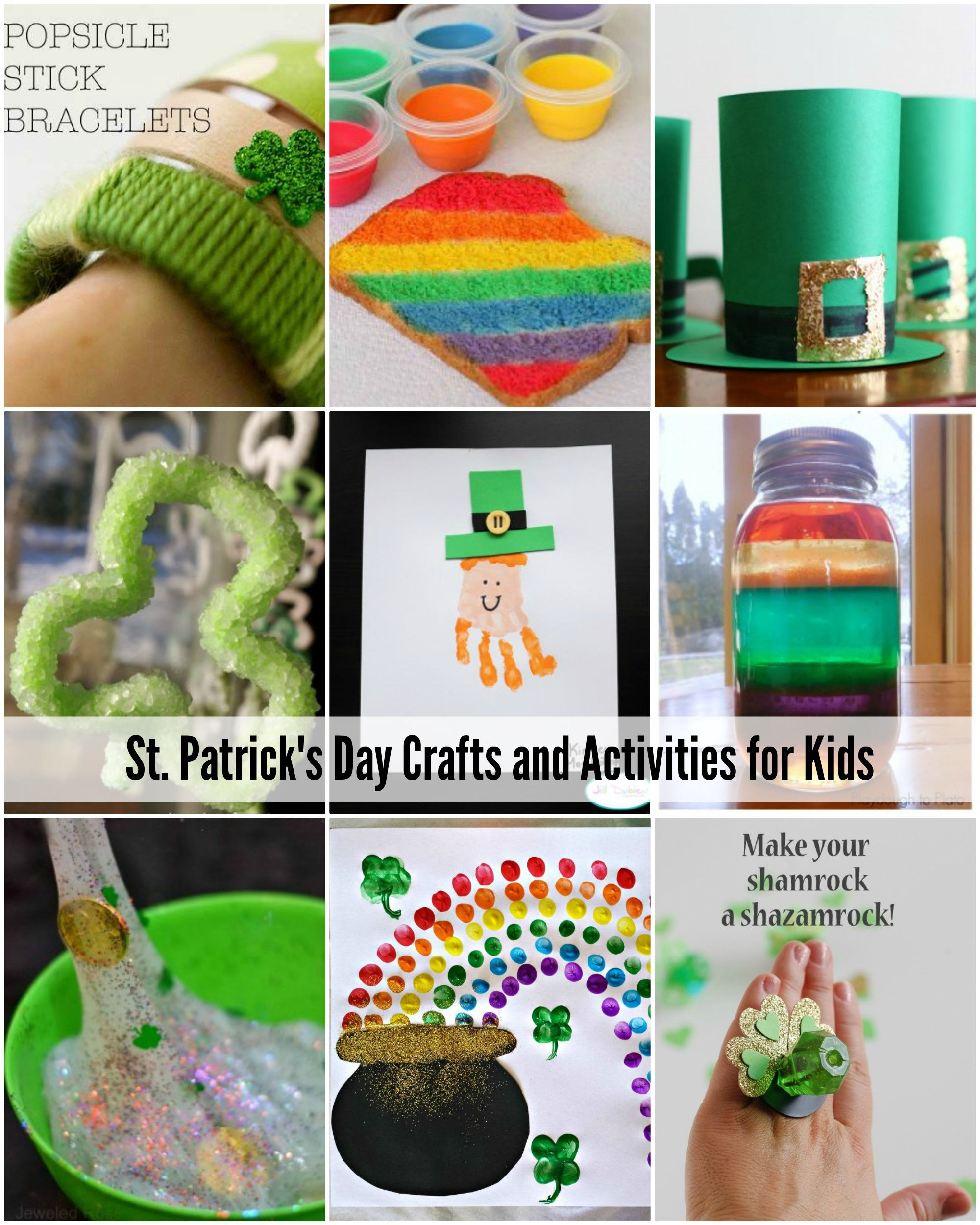 St patrick 39 s day crafts and activities for kids great for St patrick day craft ideas