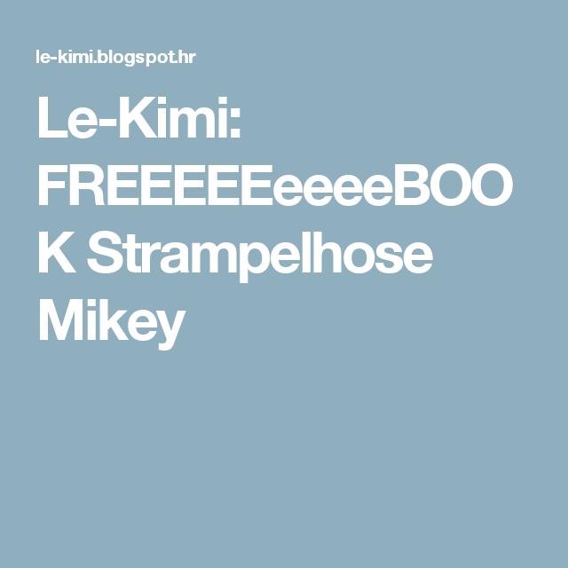Le-Kimi: FREEEEEeeeeBOOK Strampelhose Mikey