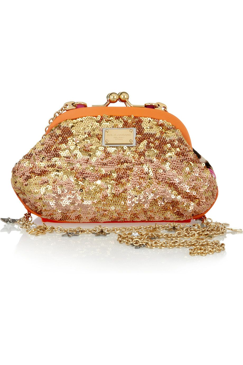 abd36aa90838 Bag · Dolce   Gabbana Doublecompartment Sequined ...