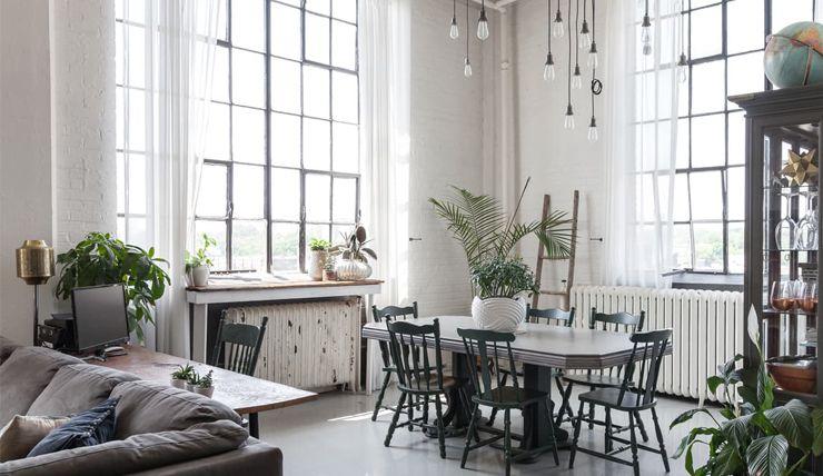 Droomloft in Toronto met bijzondere raampartijen Home decor - my