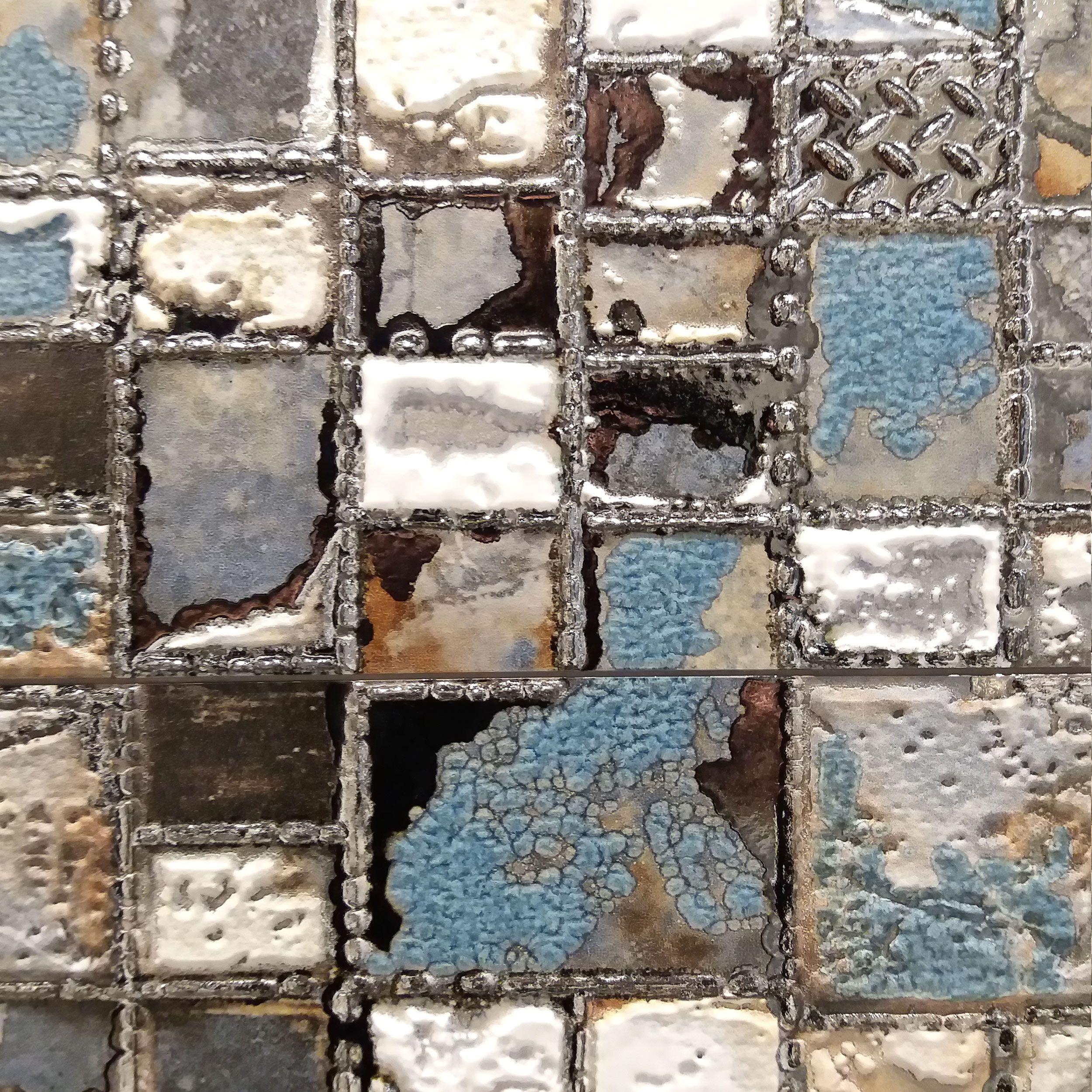 Kosmiczna Forma Mozaiki W Powiekszeniu Salonyhoff Serra Oxide Mozaika Seria Plytki Ceramika Czarna Axor Lazienka Wnetrze Glam Quilts Blanket Pods