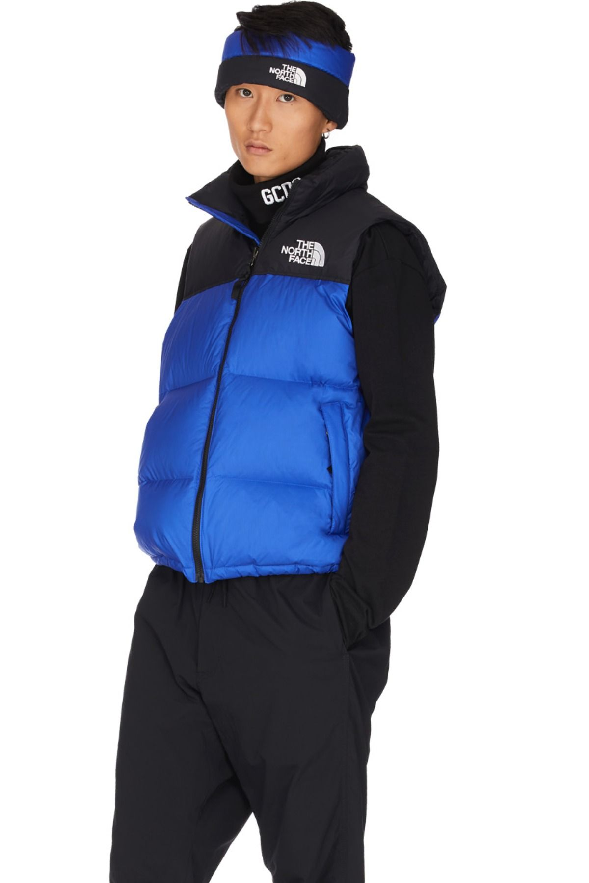The North Face 1996 Retro Nuptse Vest Tnf Blue In 2020 North Face Bubble Jacket The North Face North Face Puffer Jacket