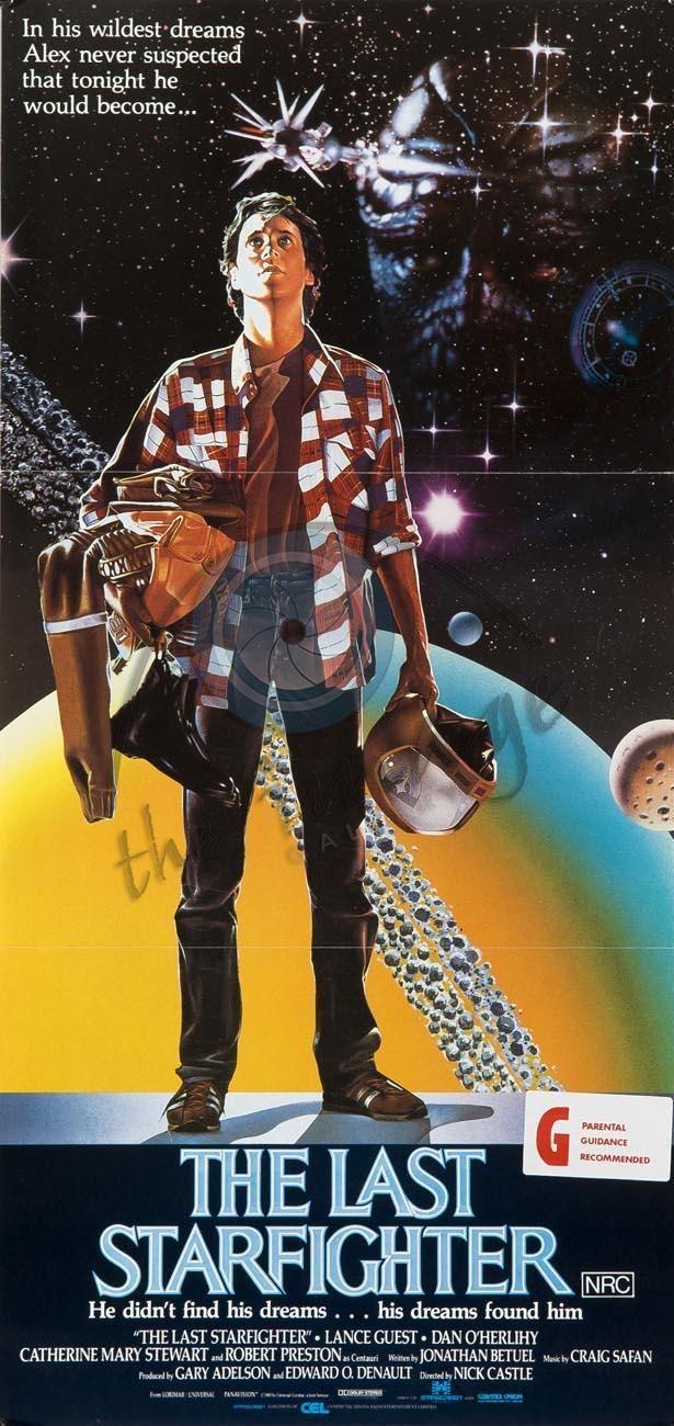 "The Last Starfighter 24/"" x 36/"" movie poster print"