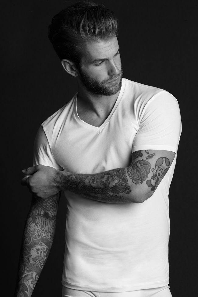Andr hamann es uno de los modelos alemanes m s guapos y deseados del momento que se hizo muy - Ropa interior tezenis ...