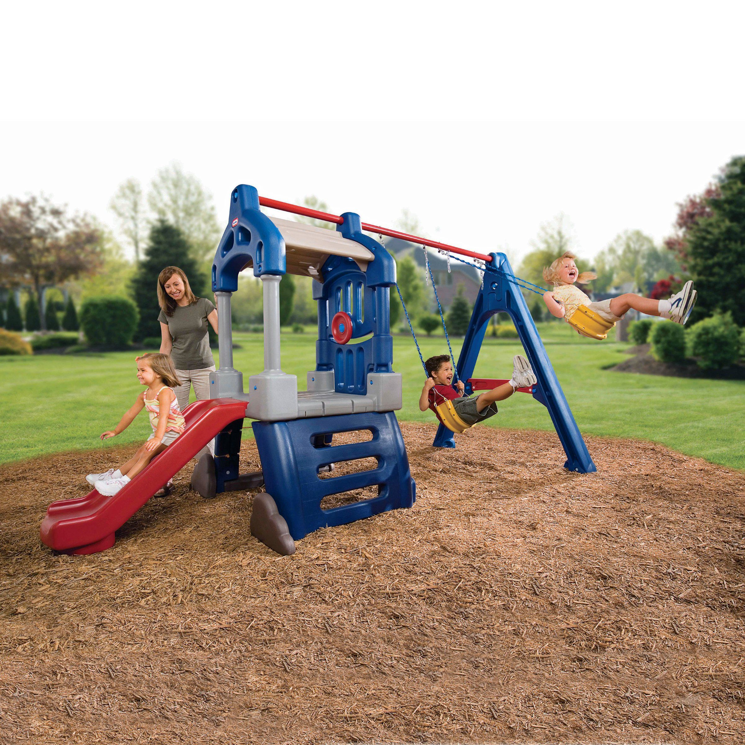 multiple children can share in the endless fun of the little tikes
