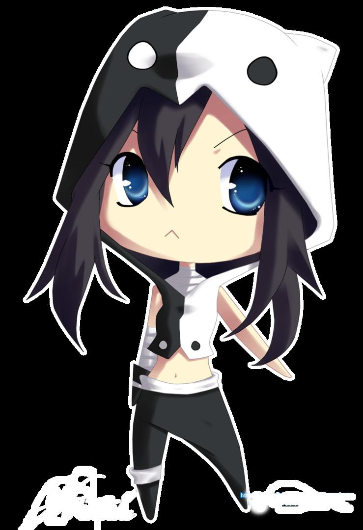 Taoism Chibi hoodie. Girl with swag Chibi, Cute anime