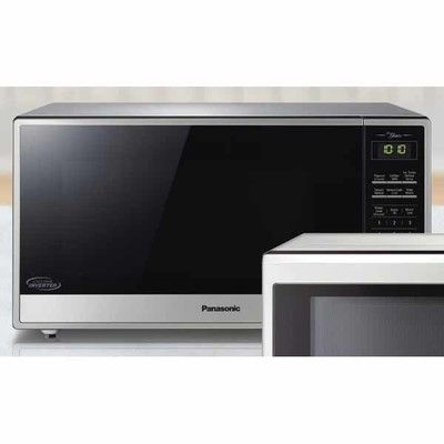 Panasonic 1 6 Cu Ft Stainless Steel Microwave Oven With