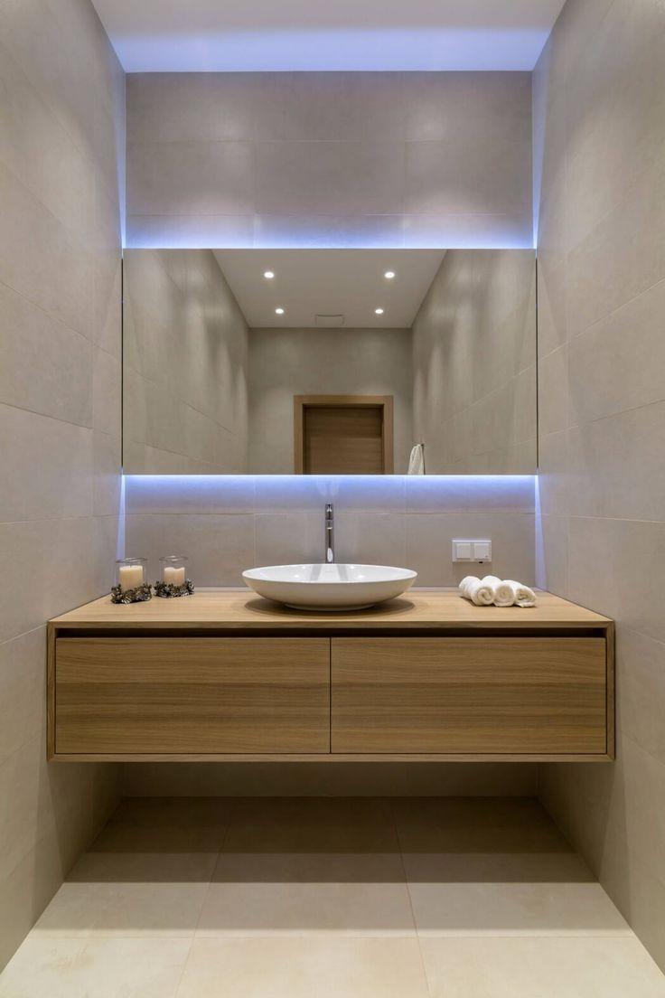 Over 130 Stylish Bathroom Inspirations With Modern Design  Https://www.futuristarchitecture.com/2295 Stylish Bathrooms.html #bathroom # Interior Check More At ...