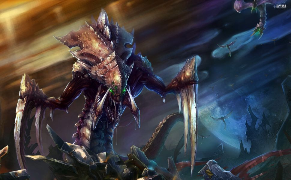 StarCraft Hydralisk HD Wallpaper
