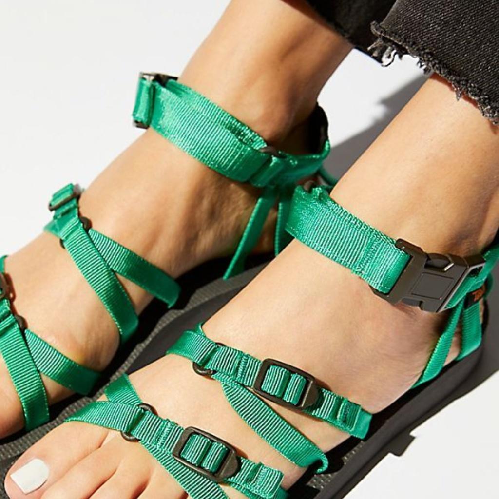 Teva Shoes Teva Alp Sandal In Green Fern Nib Color Black Green Size Various Teva Sandals Hiking Shoes Women Office Shoes Women