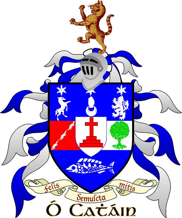 Keane Irish Family Surname Pin Badge