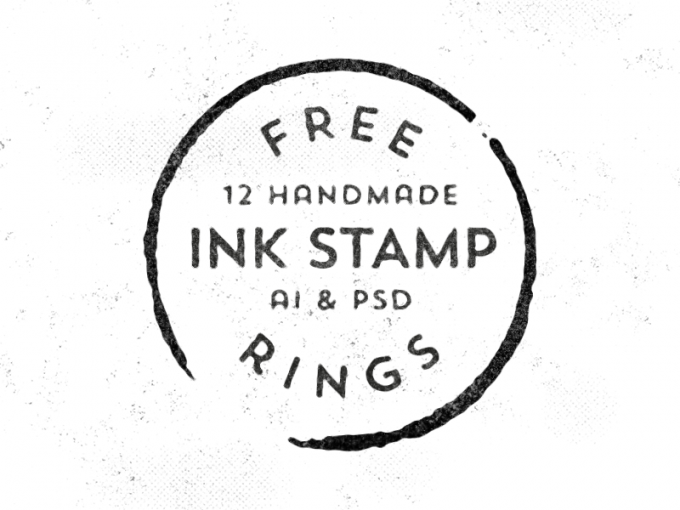 I think ink stamp logos give a real homemade feel, plus ...