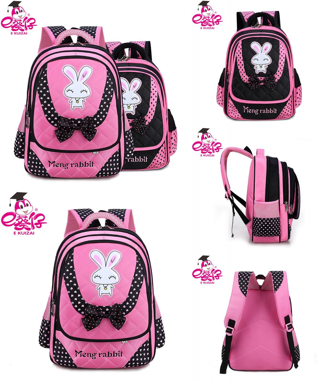 Kids Baby owl Backpack Cartoon large capacity Backpacks Shoulder Bag US Stock