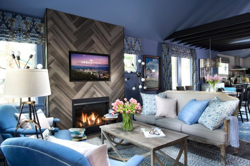 HGTV Urban Oasis Bungalow Sweepstakes 2015 Asheville NC Living Room