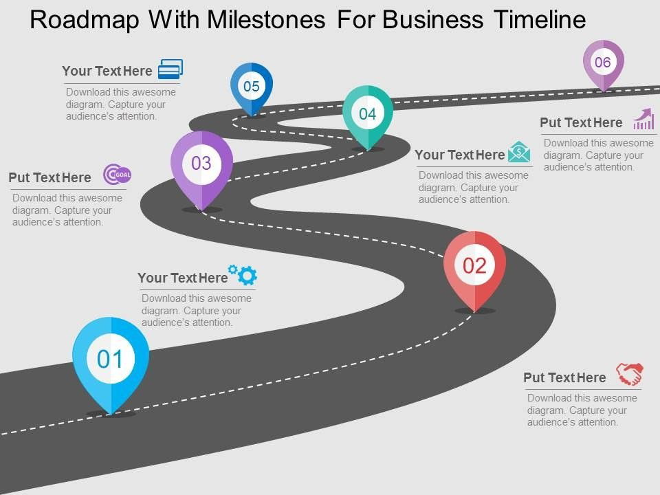 Check out this amazing template to make your presentations look – Free Roadmap Templates