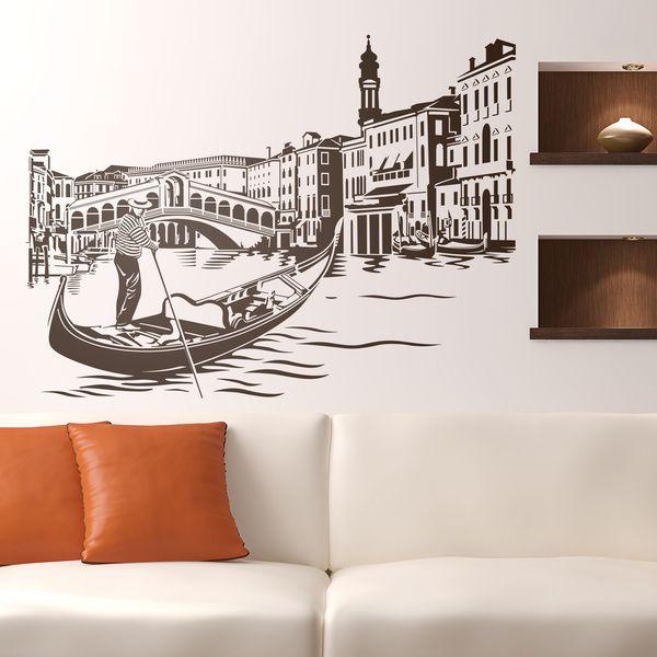 Vinilos Decorativos Puente De Rialto En Venecia Per Osteria