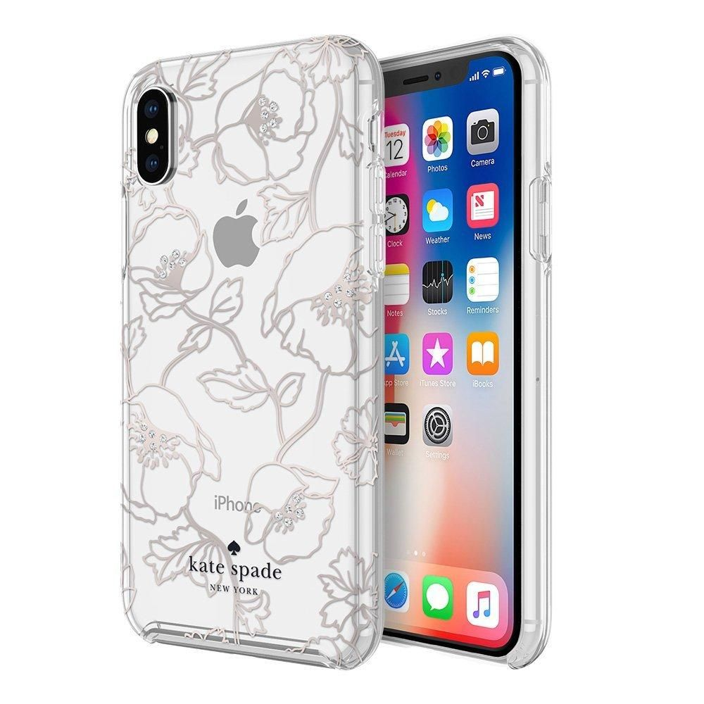 Kate spade new york iphone x case dreamy rose gold
