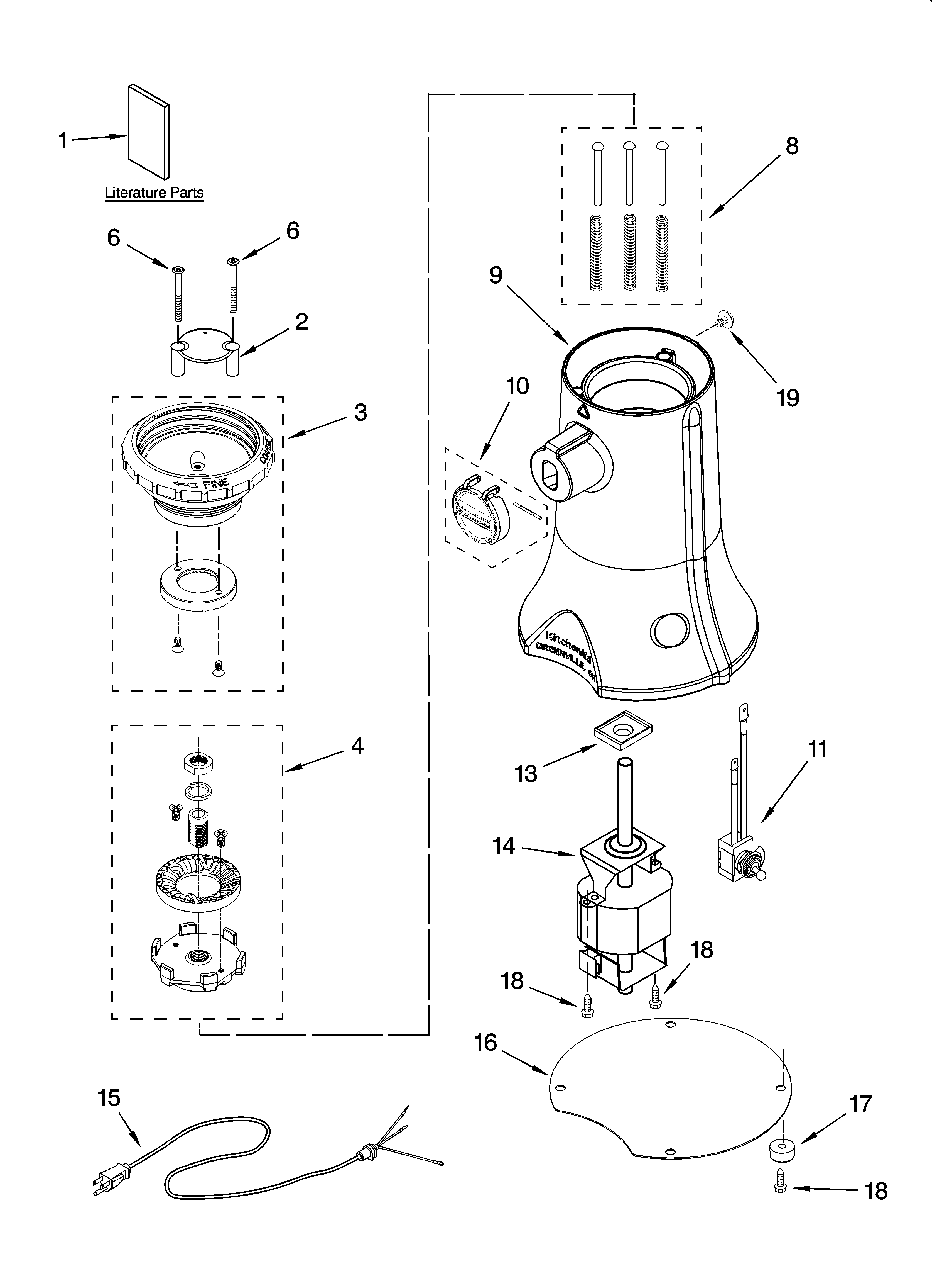 grinder diagram