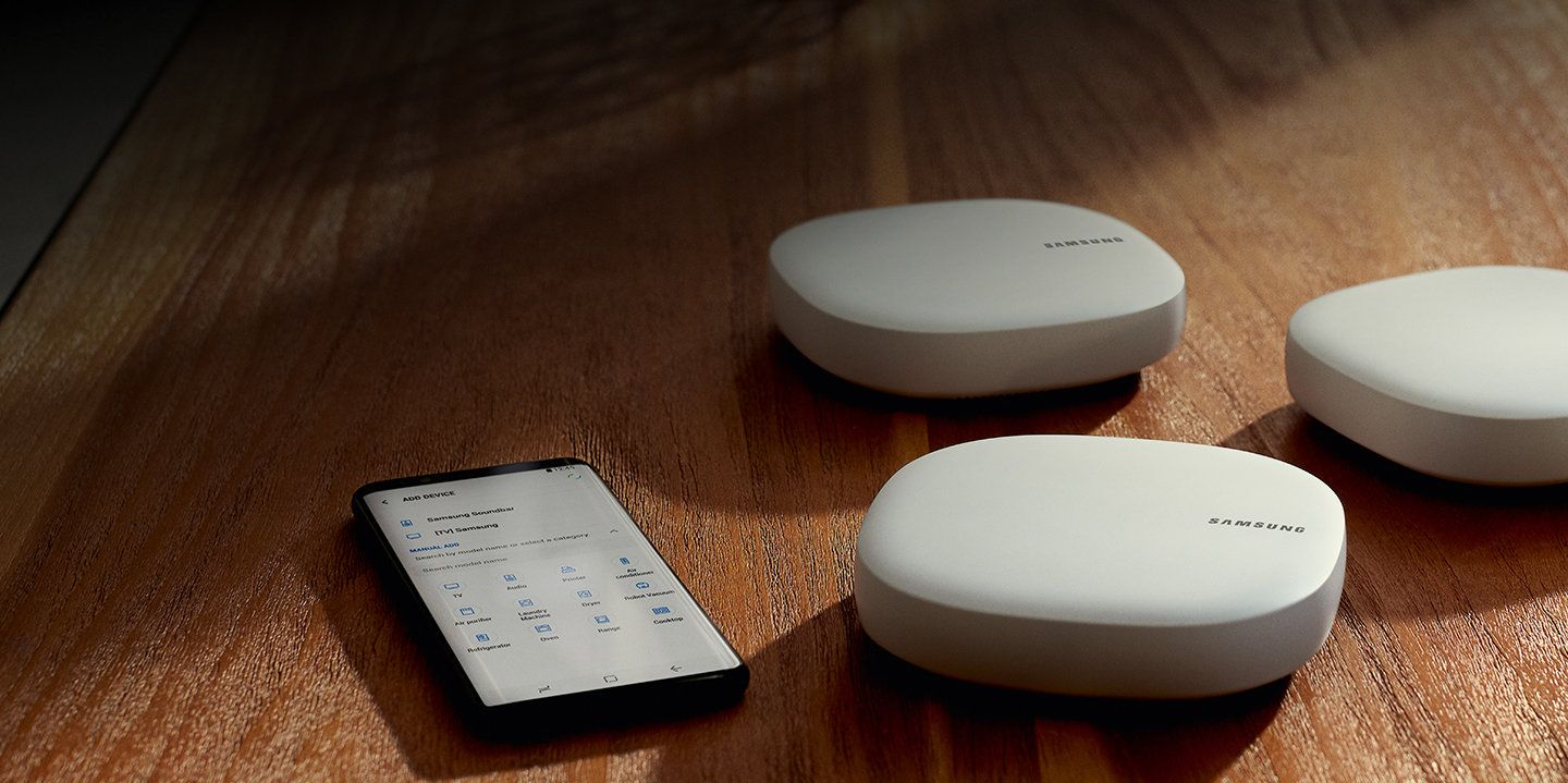 Samsung Connect Home Smart Wi-Fi System, WiFi router and