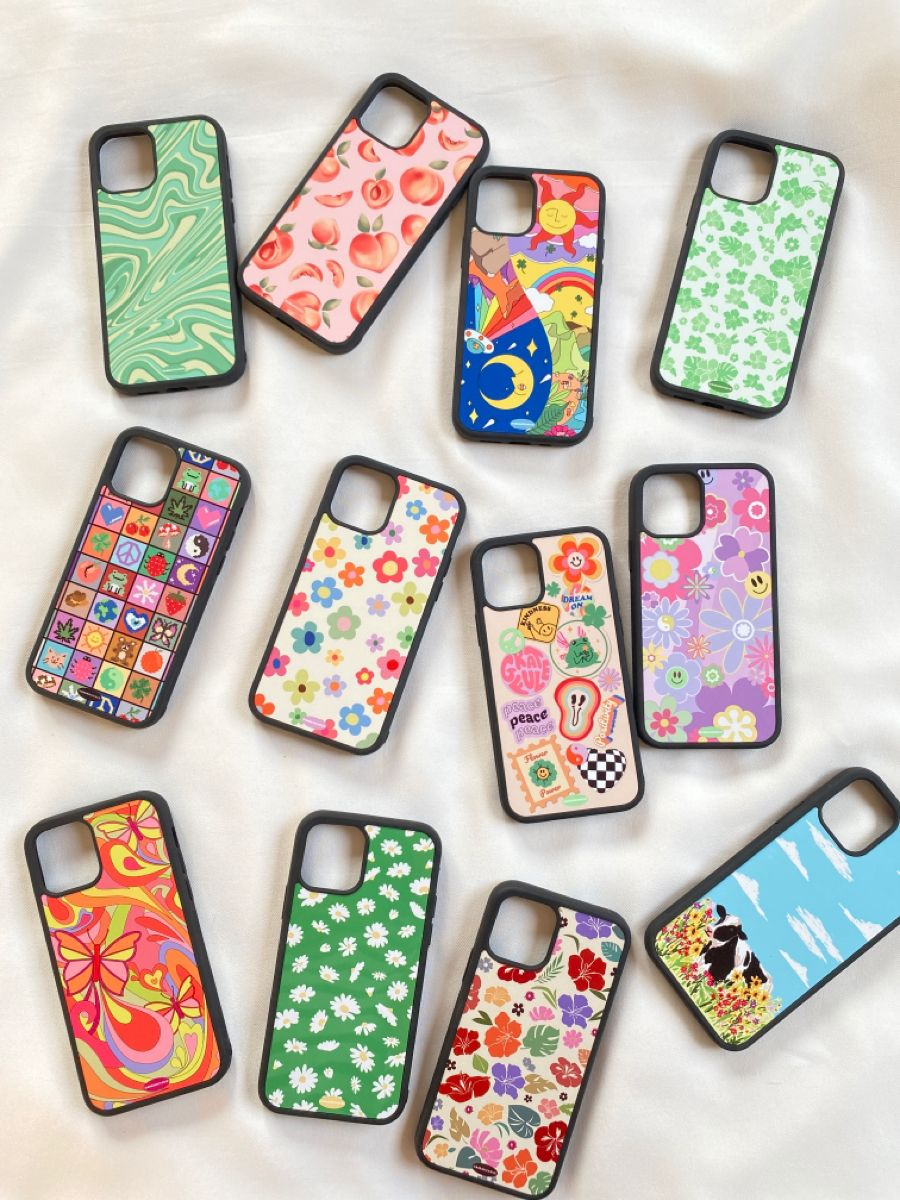 Aesthetic cute affordable phone case   Small business   Indie kid   Retro