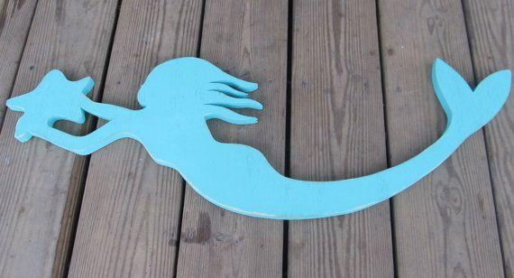 Mermaids by TRowanDesign on Etsy #mermaidsign