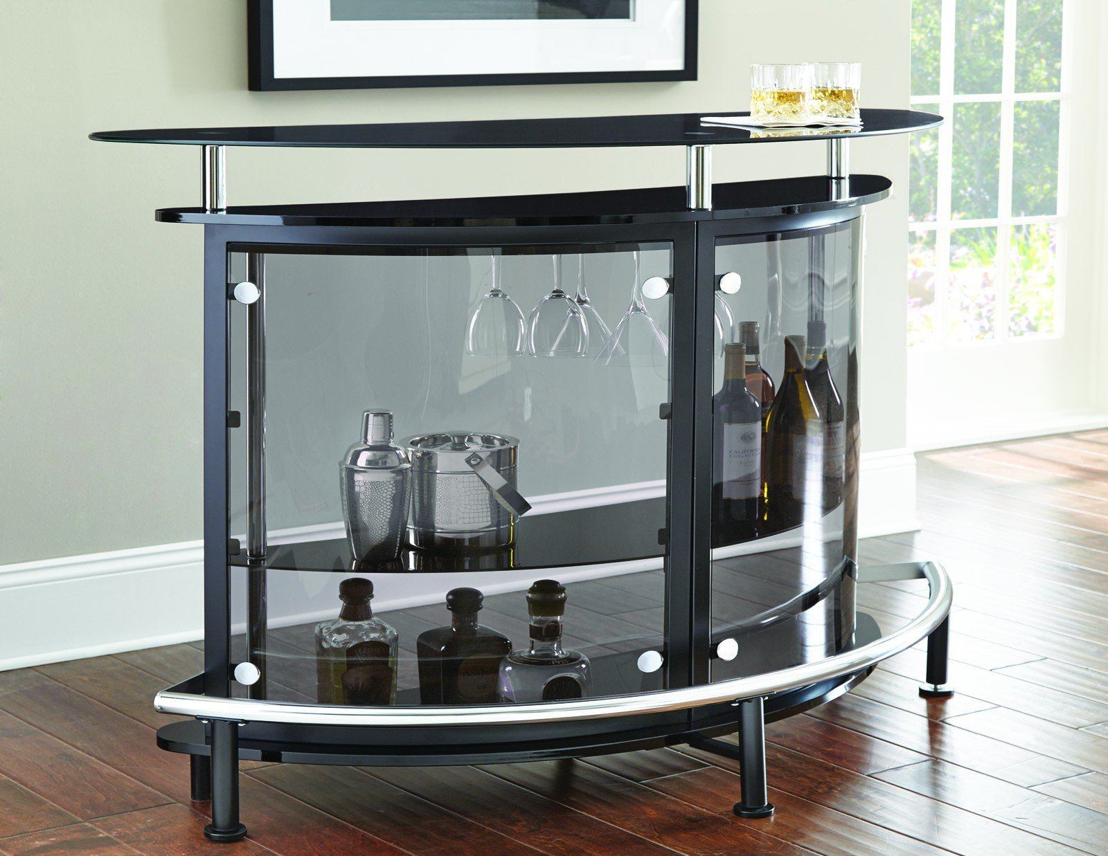Steve Silver Ariana Bar Table | Bar, Entertainment area and Footrest