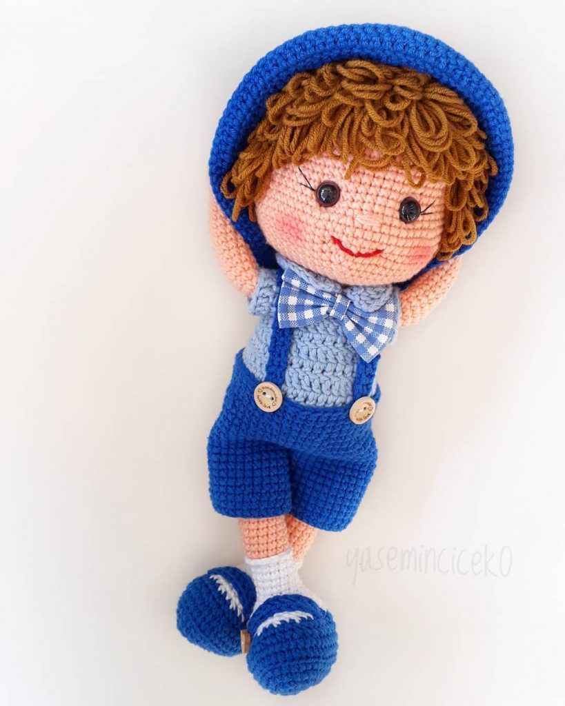 Amigurumi crochet boy doll pattern available on etsy by ... | 1024x819