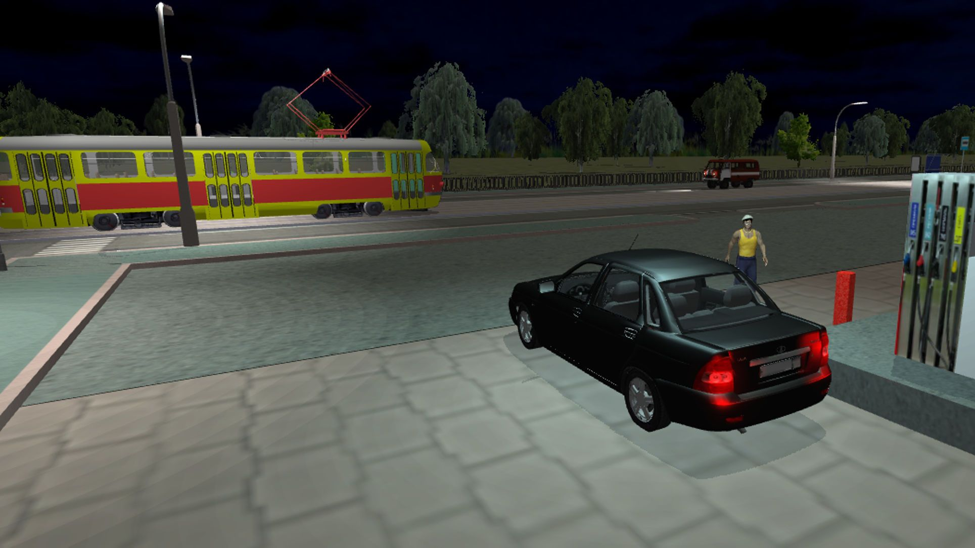 Real City Russian Car Driver Games Andreev Simulation Racing Super Car Racing Car And Driver Car