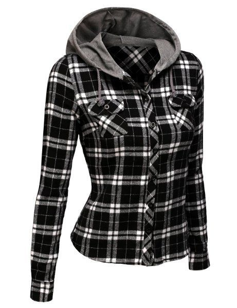 25  best ideas about Red flannel shirt on Pinterest | Black check ...